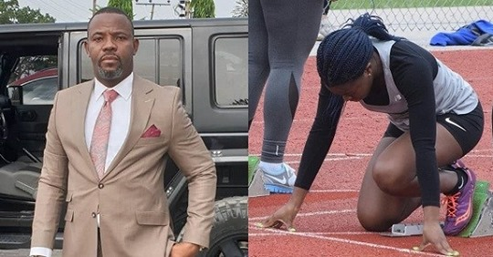 Okey Bakassi's Daughter Wins First Athletics Competition In Canada