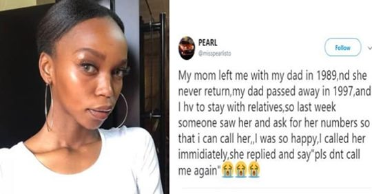 Lady Gets The Shock Of Her Life After Calling Mother Who Abandoned Her 30 Years Ago