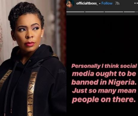 'I Think Social Media Should Be Banned In Nigeria' – Tboss