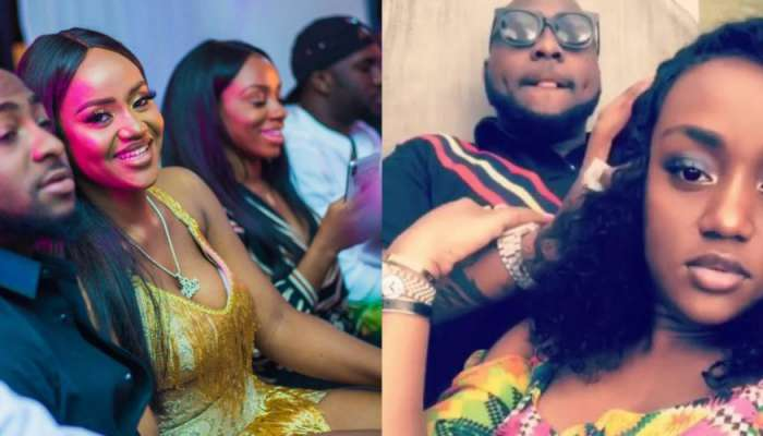 Chioma Confirms Pregnancy For Davido, Thanks Her Friends Supporting Her (screenshot)