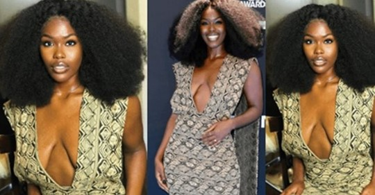 Singer Tanerélle Reacts To Negative Comments About Her Outfit To The #BETAwards, Cos It Made Her Saggy Oranges Visible