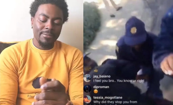Africa Is Still Enslaved – Tayo Faniran Speaks After Being Assaulted By South African Police (video)