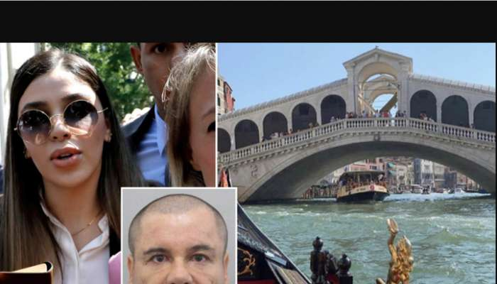 El Chapo's Stunning Wife Emma, 29, Goes On Vacation To Italy 2-weeks After Her Husband Was Jailed For Life (Photos)