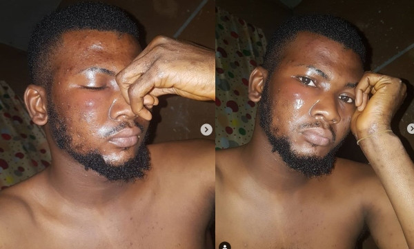 DJ Muse Punched By Lagos Policeman For Not Having A 'hangout App'