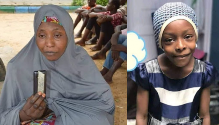 Police Parade Woman Who Kidnapped And Killed Her Friend's 8-year-old Daughter In Kano After Her Parents Failed To Pay Ransom