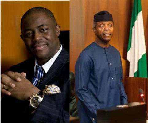 Osinbajo Is On His Way Out Of The Villa, Three Names Have Been Shortlisted As His Possible Replacements- FFK Claims