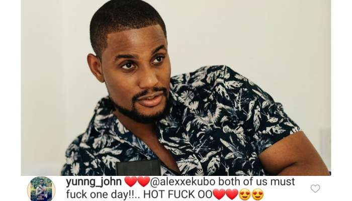 Between Alex Ekubo And A Nigerian Man Who Insists They Must Have Sex Someday