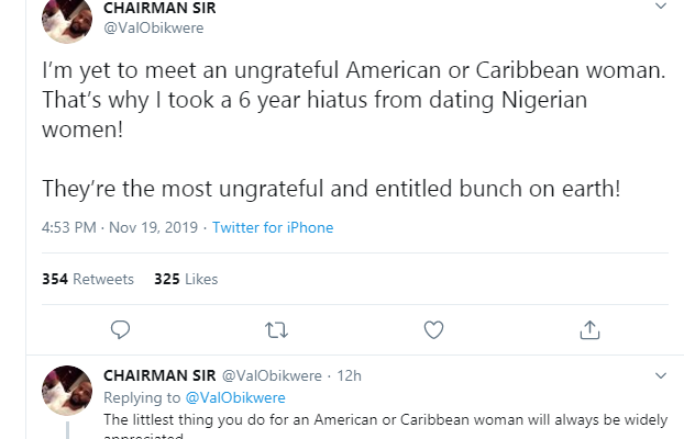 I Stopped Dating Nigerian Women 6 Years Ago Because They Are Ungrateful And An Entitled Bunch – U.S-based Nigerian Man
