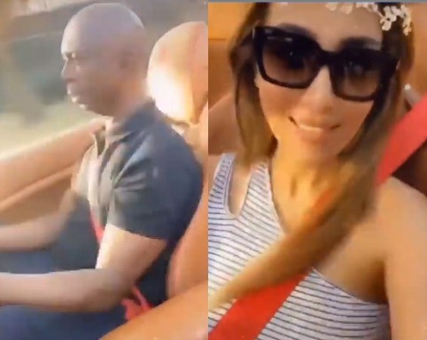 Nigerians React As New Video Of Regina Daniel's Hubby, Ned Nwoko, Cruising Around Town With One Of His Wives Surfaces Online