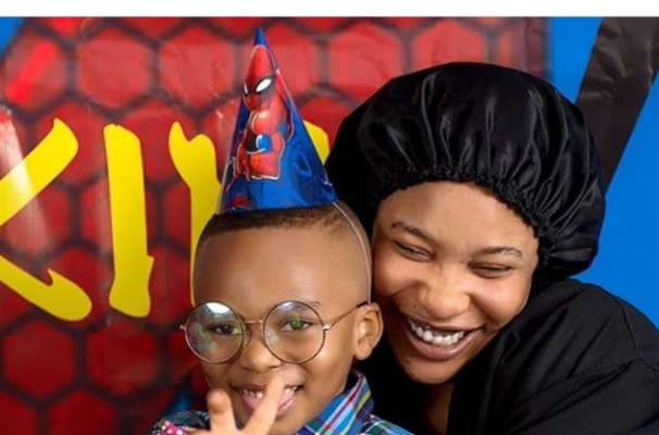"""""""Blood Ain't Family"""" Tonto Dikeh Says As She Thanks Her """"big Baby"""" For Being There On Her Son's Birthday"""
