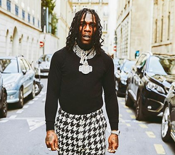 'You Deserve Your Leaders' – BurnaBoy Mocks Nigerian Youths Following News That The Accountant General's Office Was Gutted By Fire