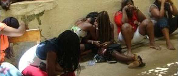 COVID19: Sex Workers And Their Clients Arrested In Ondo For Flouting State Government's Lockdown Order