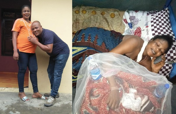 Nigerian Couple Welcome Their First Child After 14 Years Of Marriage (photos)