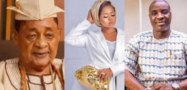 Let The Oracles Of Oyo Palace And Spiritual Mothers Punish Me If I Slept With KWAM 1 – Alaafin Of Oyo's Wife, Queen Ola Finally Reacts (video)