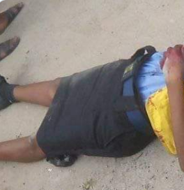 Policeman Allegedly Shoots Dead Female Colleague Who Is A Nursing Mother In Rivers State (graphic Photo)