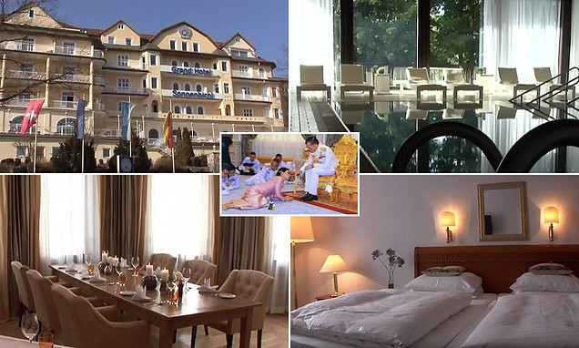 See Inside The Four-star Resort In Germany Where Thai King Is Spending Lockdown With His Harem Of 20 'sex Soldiers' (Photos)
