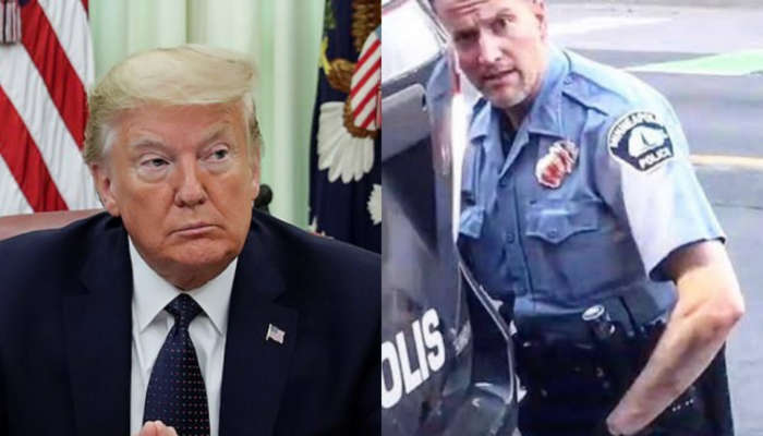 'These THUGS Are Dishonoring The Memory Of George Floyd, And I Won't Let That Happen' -Trump Threatens To Use Military If The Protests And Looting In Minneapolis Isn't Stopped