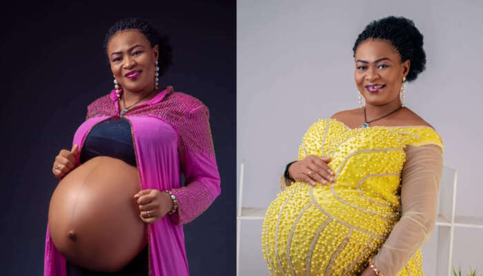 Nigerian Lady Welcomes Triplets After 14 Years Of Marriage (PHOTOS)