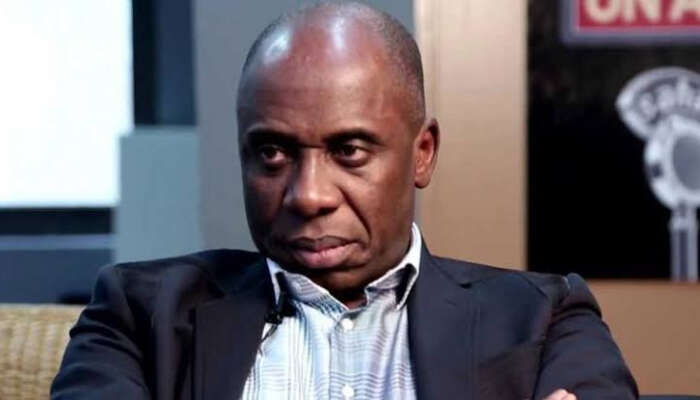 """I'm Doing What They Call Siddon Look"" – Rotimi Amaechi Reacts To Crisis Rocking APC"