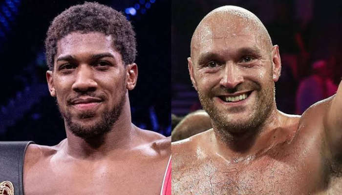 Anthony Joshua And Tyson Fury Reach Agreement On A Two-fight Deal
