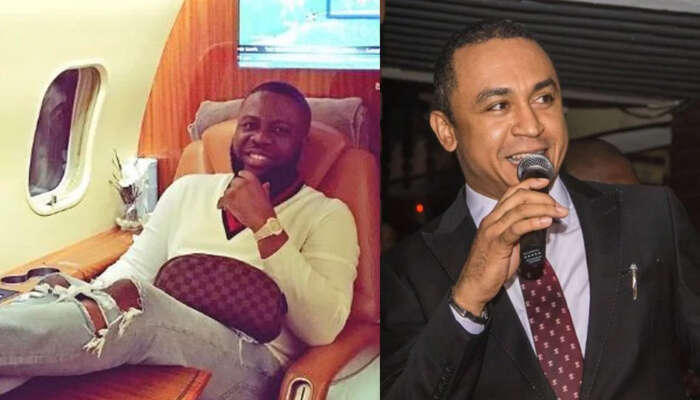 What I Will Tell You Will Make You Drink Sniper – Daddy Freeze Reacts To Being Called Out For Dining With Hushpuppi After Criticizing Pastor