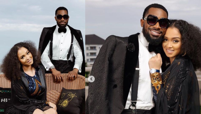 'You Are The Best And Have Been Nothing But A Blessing' – D'banj Praises Wife Didi Lineo As He Shares Beautiful Photos Of Them