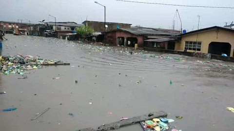 Flood Sweeps Away 4-year-old Child In Lagos