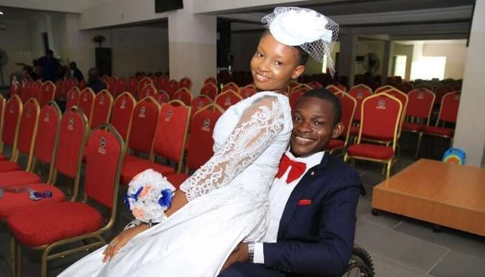 "She Married The Personality, Not The Disability"" – Physically-challenged Man Tells Trolls Who Mocked His Bride"