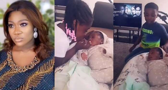 My Son Won't Stop Referring To My Little Daughter As A Boy – Mercy Johnson Says As She Shares Video Of Her Kids