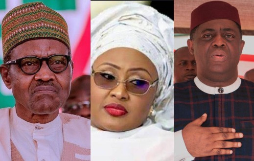 """Who Is In Charge Of Our Country?"" FFK Asks As He Reacts To The Face-off Between Aisha Buhari's Aides And President Buhari's Nephew In The Villa"