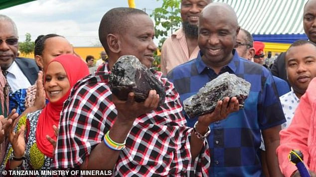 Tanzanian Miner And Father-of-30 Becomes Overnight Millionaire After Digging Up Huge Gemstones Worth $3.35 Million (Photos)