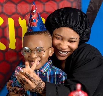 """Being Your Dad Has Been A Great Honor"" Tonto Dikeh Tells Her Son Andre As She Wishes Herself A Happy Fathers Day"