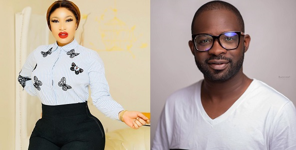 """Thanks For My Bum And Hips"" – Tonto Dikeh Appreciates Her Plastic Surgeon On His Birthday"