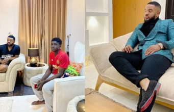 Williams Uchemba Adopts 18-year-old Boy, Also Grants Him University Scholarship