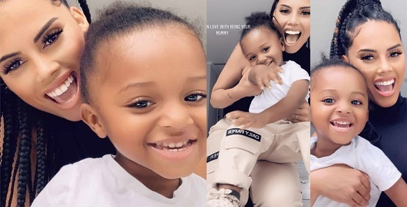"""""""I'm So In Love With Being Your Mummy"""" – Wizkid's 3rd Baby Mama Says As Shares Adorable New Photos With Zion"""
