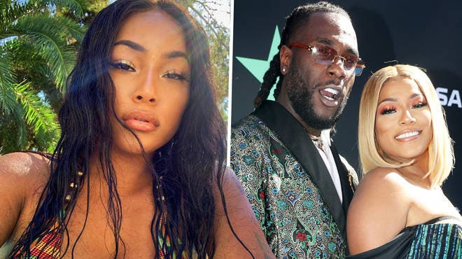 See How Stefflon Don Reacted After Fan Claims He Has A Picture Of Burna Boy Kissing Another Woman