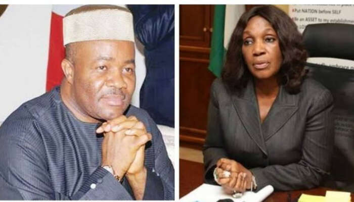I'm Contented With My Wife –Akpabio Denies Sexually Harassing Former NDDC Acting MD, Joy Nunieh