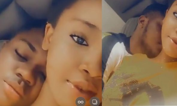 """""""He Started Crying When I Wanted To Leave"""" – Lady Says As She Shares Video Of Her Boyfriend In Tears"""