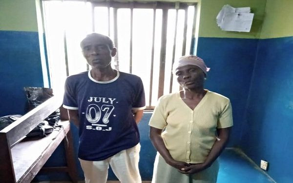 Police Arrest Couple For Maltreating Their 7-year-old Granddaughter In Ogun