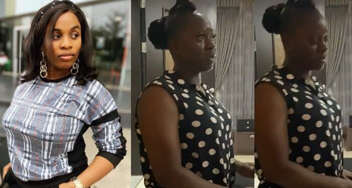 Emotional Moment A Lady And Her House Help Burst Into Tears As The House Help Sets To Leave After Years Of Serving (Video)