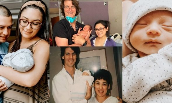Lady Excited As Same Doctor Who Delivered Her 25 Years Ago, Delivers Her Son (Photos)