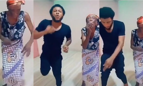 Grandmother Sets Internet On Fire With Her Amazing 'Legwork' Moves (Video)