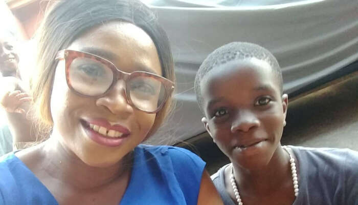 """""""Don't Leave Me Childless Lord"""" Single Mum Cries Out On Twitter As Her Only Son Goes Missing"""