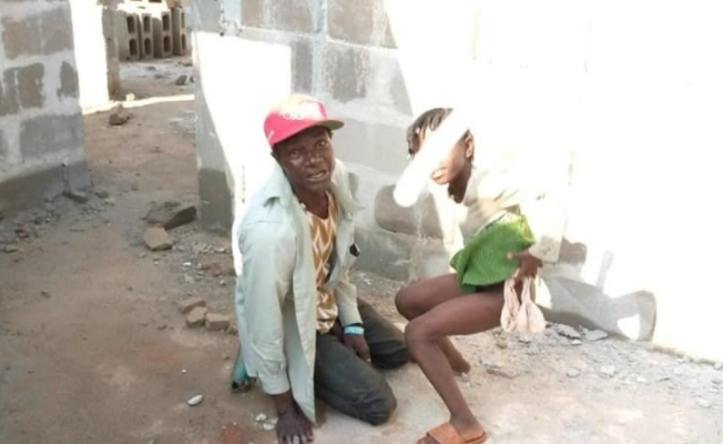 Security Man Caught Pants Down Defiling Girl, 8, But The Girl's Parents Who Are Both Pastors Have Decided Not To Press Charges Against Him (photos)