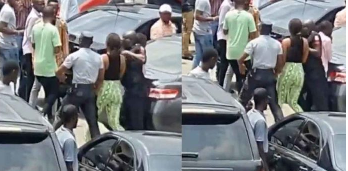Lady Arrested After Allegedly Stealing An IPhone And Hiding It In Her Private Part (video)