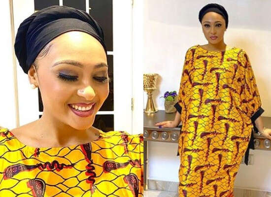 """""""Isn't She Beautiful?""""- Olakunle Churchill Asks As He Shares Photos Of Rosy Meurer And Describes Her As His Woman Crush Wednesday"""