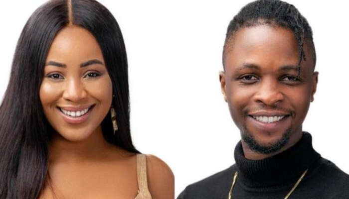 """#BBNaija: """"At What Point Did I Try To Kiss You, As Ugly And Skinny As You Are"""" – Erica Drags Laycon (videos)"""