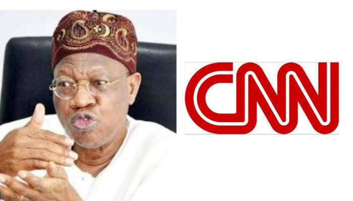 Lekki Massacre: Lai Mohammed Condemns CNN Reports, Says It Is Capable Of Setting Nigeria On Fire