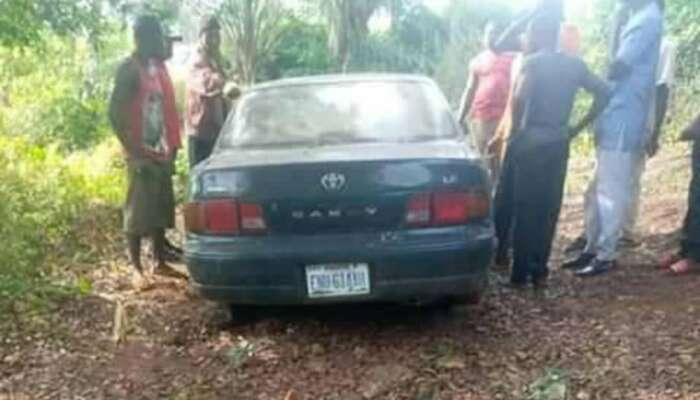 Bodies Of Three Missing Children Found Inside A Car Parked At A Retired Police Officer's Home In Enugu (Video)