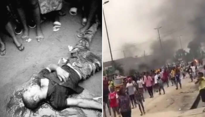 Police Allegedly Kills Young Keke Rider Over N100 Bribe In Rukpukwu, Rivers State (Graphic Video)
